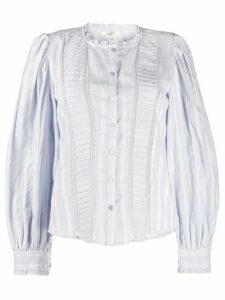 Isabel Marant Étoile ruffle trim blouse - Blue