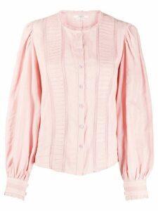 Isabel Marant Étoile lace insert blouse - Pink