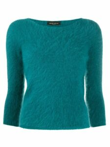 Roberto Collina slim-fit jumper - Blue