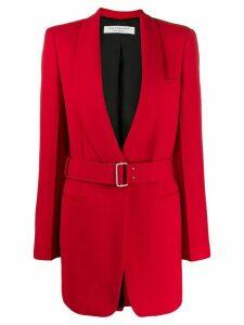 Philosophy Di Lorenzo Serafini contrast belt jacket - Red
