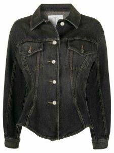 TRE by Natalie Ratabesi Juno denim jacket - Black