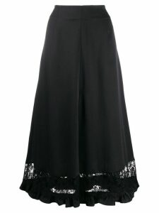 Magda Butrym lace maxi skirt - Black
