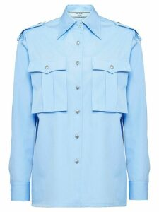 Prada military shirt - Blue