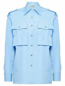 Prada military shirt - Blue
