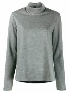 Forte Forte mottled high neck jumper - Grey