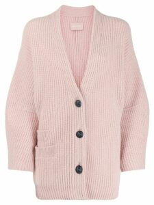 Zadig & Voltaire Austin cable-knit cardigan - PINK