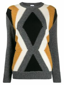 M Missoni patterned knit jumper - Grey