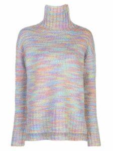 Sies Marjan knitted roll neck jumper - Black