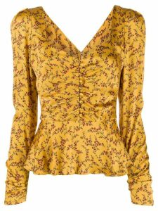 Jonathan Simkhai floral print blouse - Yellow