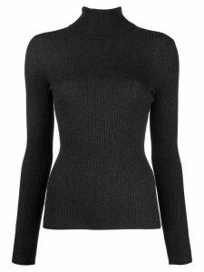 Snobby Sheep ribbed roll neck jumper - Grey