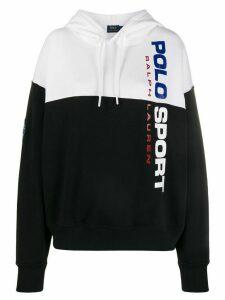 Polo Ralph Lauren contrast drawstring hoodie - Black