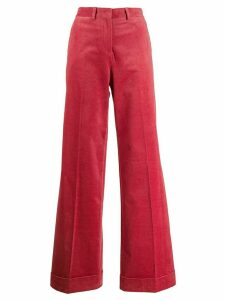 PS Paul Smith flared corduroy trousers - PINK