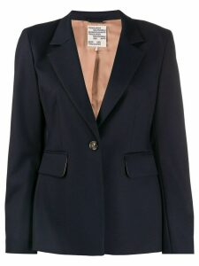 Baum Und Pferdgarten slim-fit single-breasted blazer - Blue