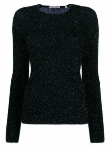 Our Legacy metallized fitted jumper - Blue