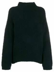 Vince Teddy funnel-neck jumper - Blue