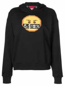 Mostly Heard Rarely Seen 8-Bit Curse hoodie - Black