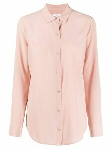 Equipment button down silk shirt - PINK