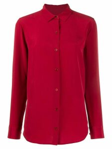Equipment buttoned shirt - Red