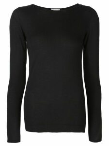 Brunello Cucinelli crew-neck sweater - Black