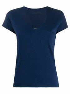 Zadig & Voltaire sheer skull T-shirt - Blue