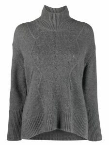Zadig & Voltaire Dine C knitted sweater - Grey