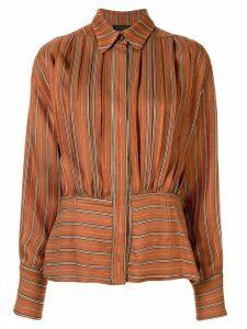 Anteprima Riga jacquard shirt - Brown