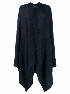Zadig & Voltaire India knit poncho - Blue