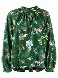 Zadig & Voltaire printed blouse - Green