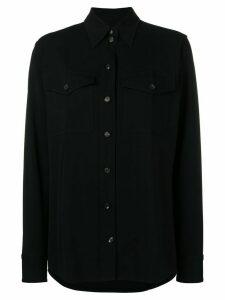 Victoria Beckham safari shirt - Black