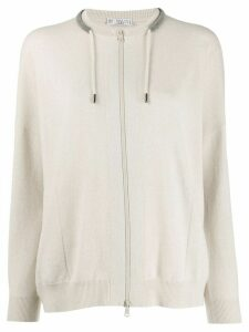 Brunello Cucinelli chain trim jumper - Neutrals