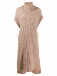 Uma Wang sleeveless jumper - NEUTRALS