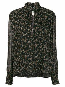 Jonathan Simkhai floral print blouse - Black