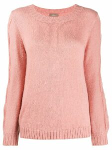 Altea cable knit sweater - PINK