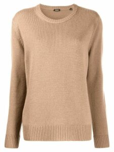 Aspesi crew neck jumper - Brown