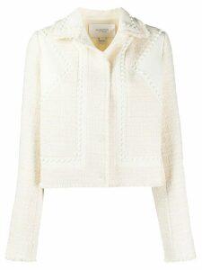 Giambattista Valli studded fitted jacket - NEUTRALS
