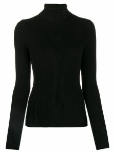 Essentiel Antwerp Tristan ribbed jumper - Black