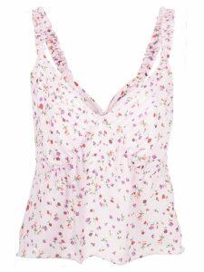 Nicholas floral print blouse - PINK