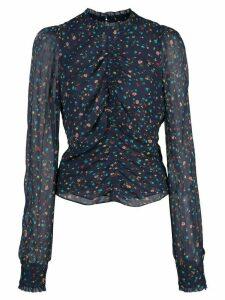 Nicholas floral print blouse - Blue