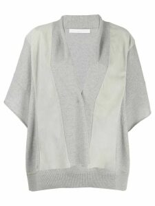 Fabiana Filippi loose cardigan - Grey