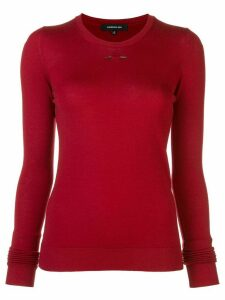 Barbara Bui slim-fit jumper - Red