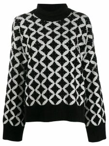 By Malene Birger Natalya chenille jumper - Black