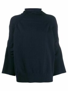 By Malene Birger roll-neck knit jumper - Blue