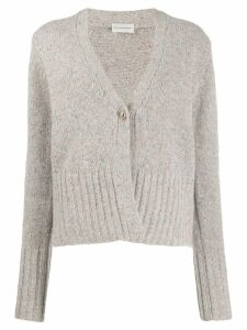 By Malene Birger buttoned knitted cardigan - Grey
