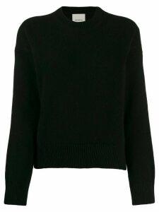 Laneus round-neck jumper - Black