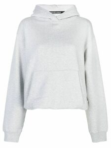 T By Alexander Wang long sleeved hoodie - Grey