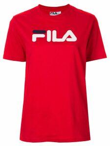 Fila printed logo T-shirt - Red