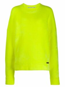 Alexander Wang chunky knit jumper - Yellow