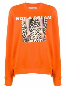 Gina Not a Dream graphic sweatshirt - Orange