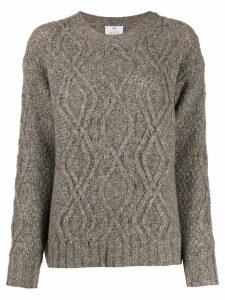 Allude Treccia knit jumper - NEUTRALS
