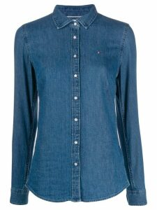 Tommy Hilfiger denim slim-fit shirt - Blue